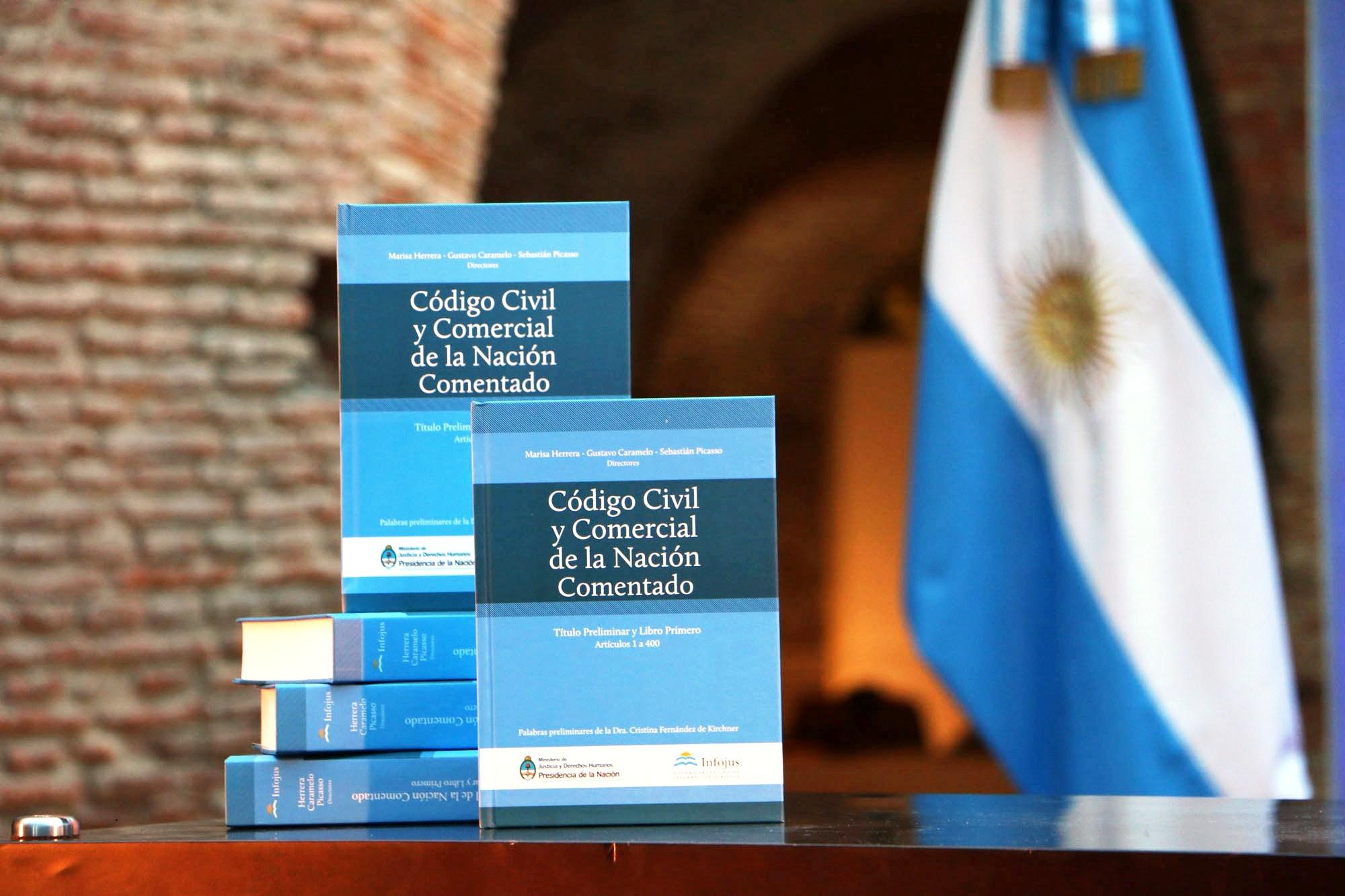Codigo Civil y Comercial de la Nación Argentina